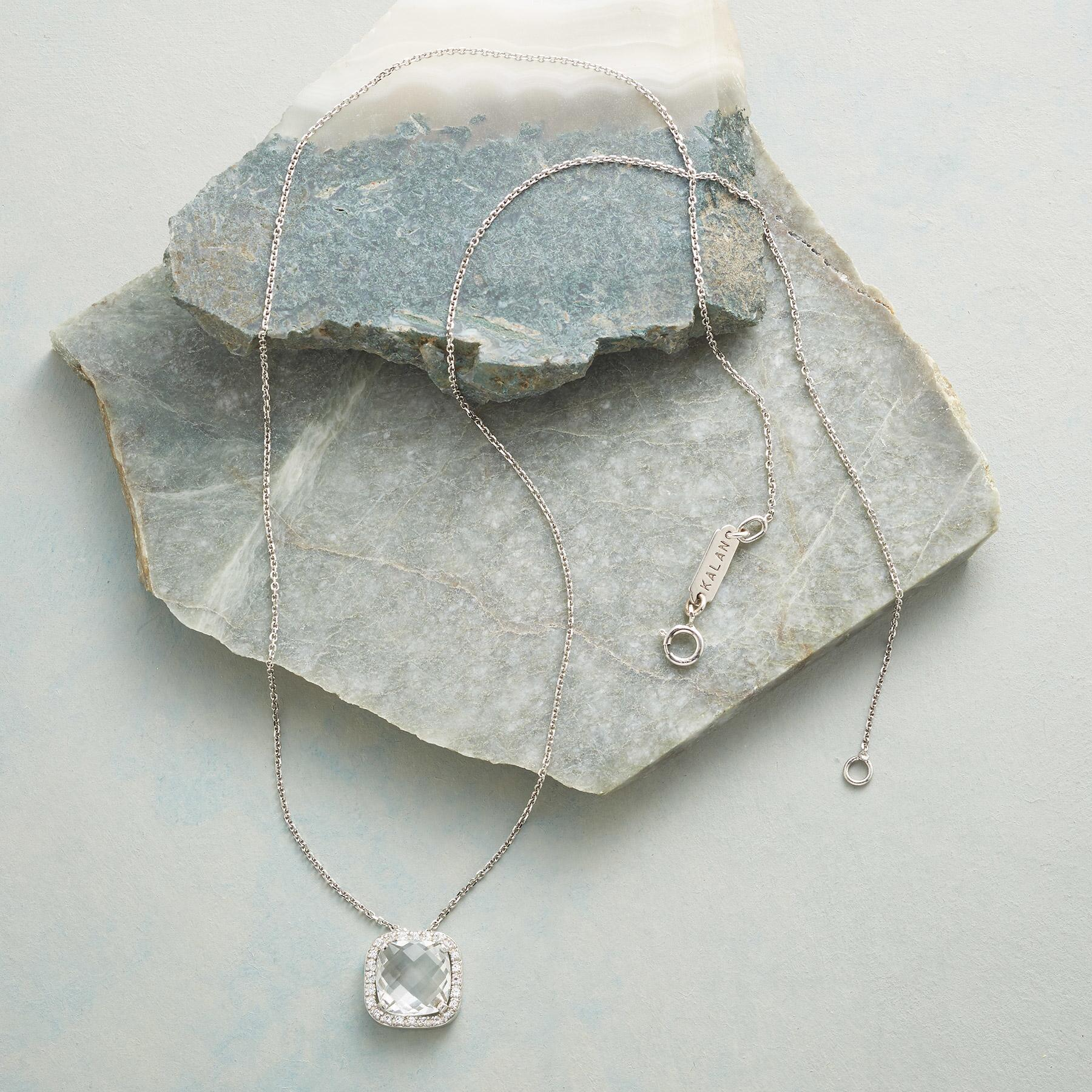 WHITE LIGHT NECKLACE: View 2