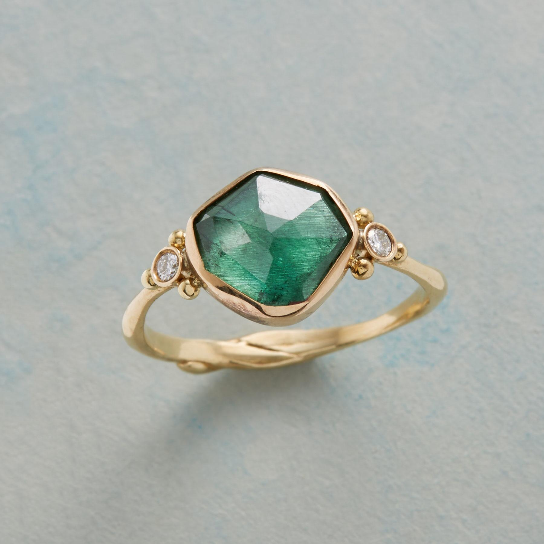 TELLTALE TOURMALINE RING: View 1