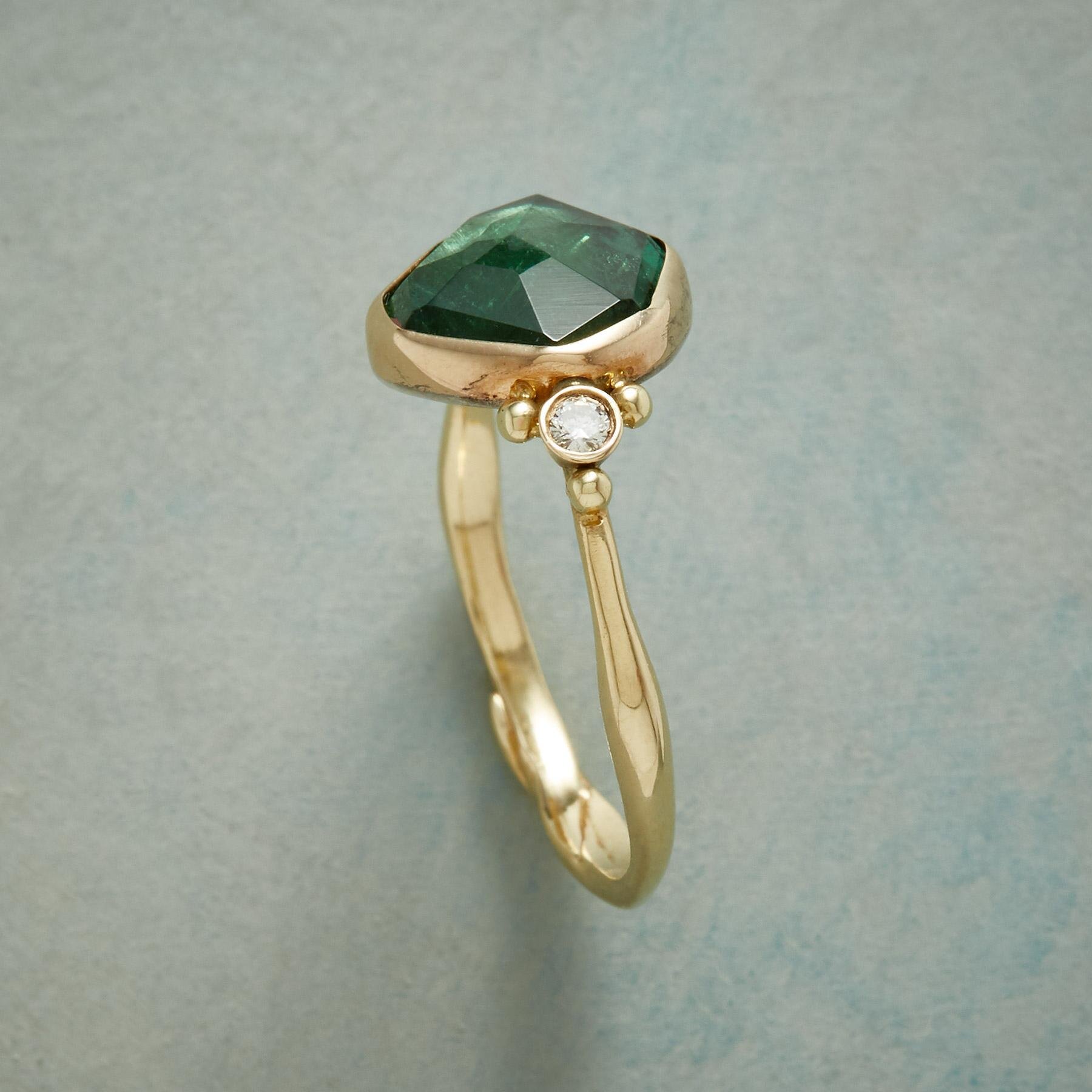 TELLTALE TOURMALINE RING: View 2