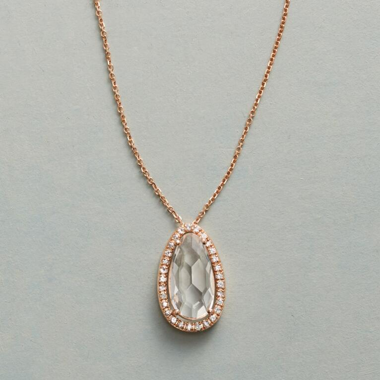 PRECIOUS PEAR NECKLACE