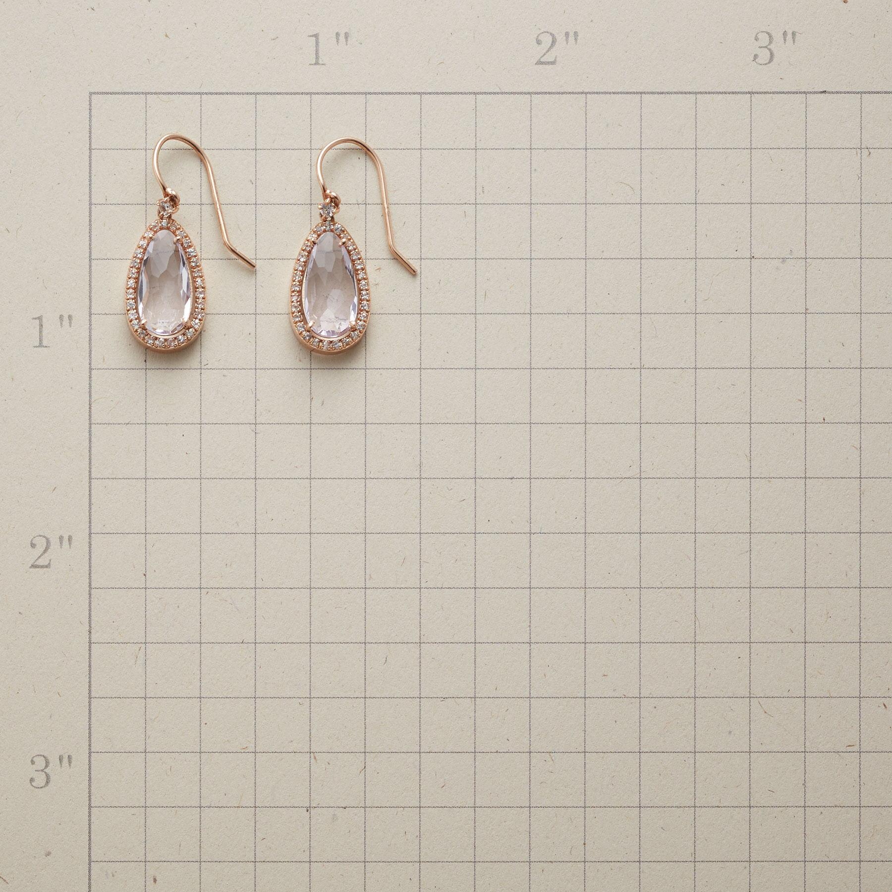 CLEAR RADIANCE EARRINGS: View 2