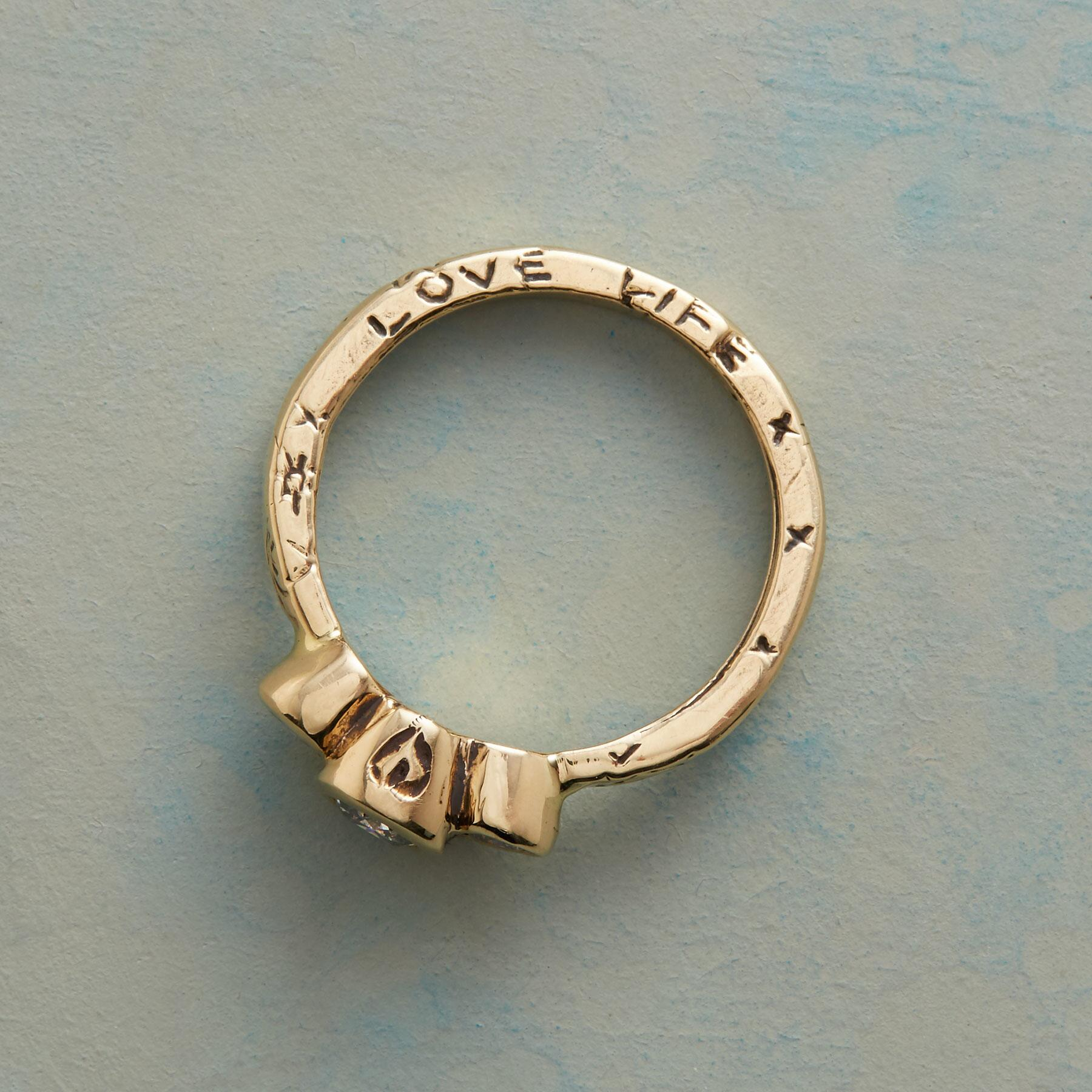 ABUNDANT LOVE DIAMOND TRIO RING: View 2