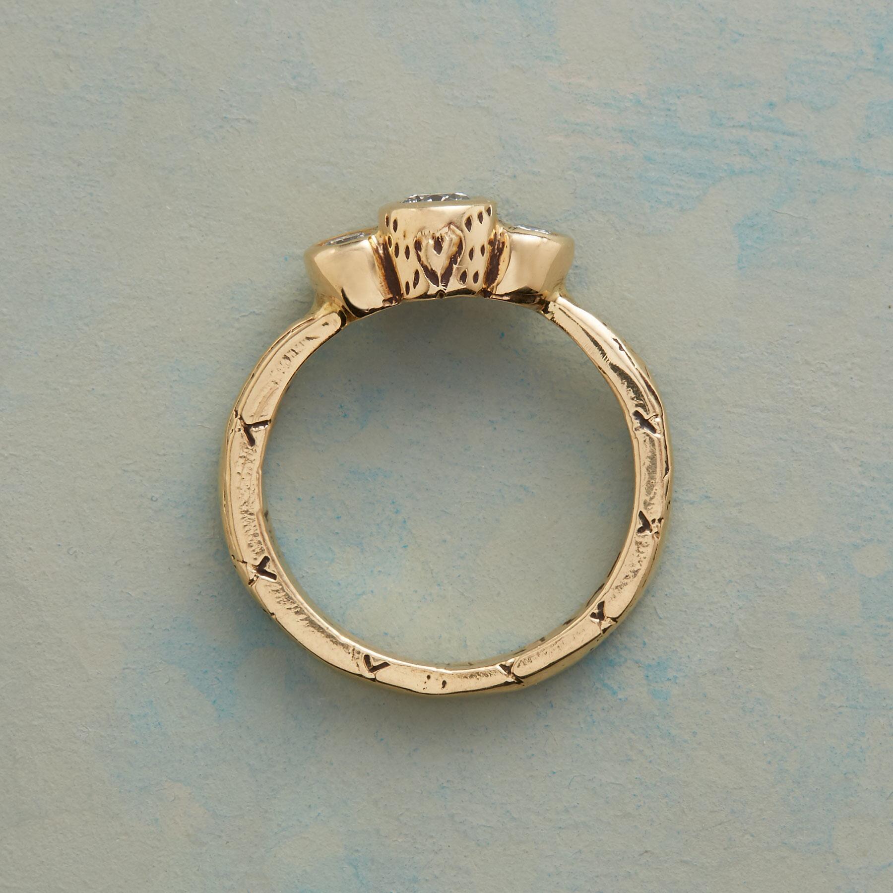 ABUNDANT LOVE DIAMOND TRIO RING: View 3
