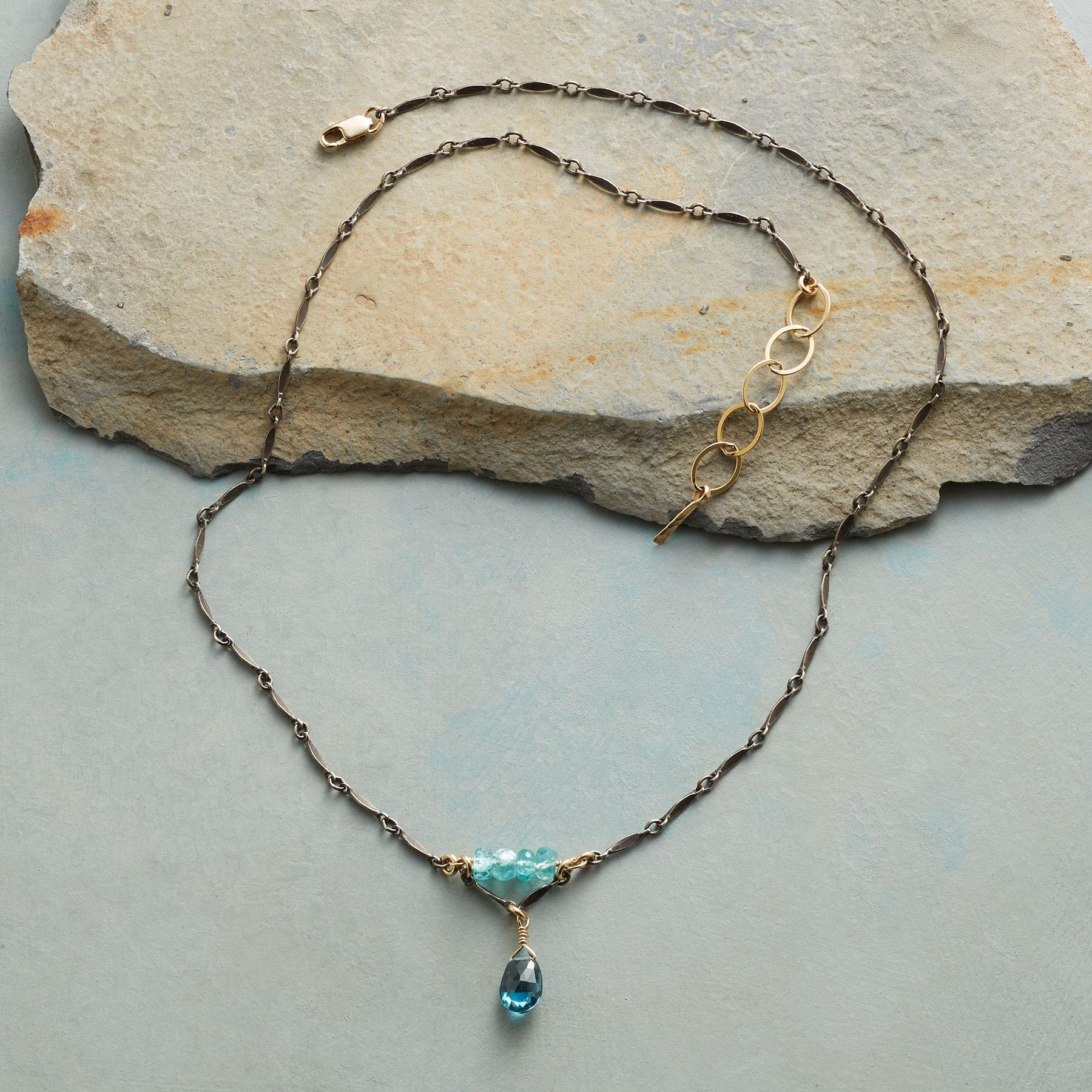 BRILLIANT IN BLUE NECKLACE: View 2