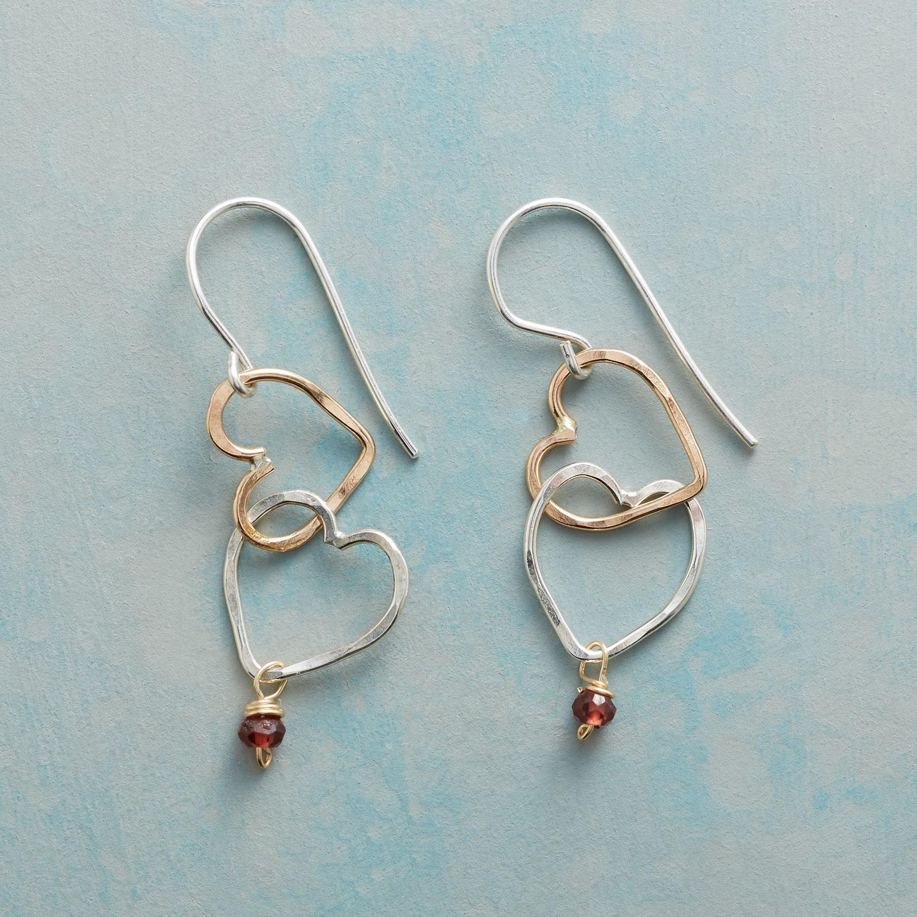 OPEN HEARTS EARRINGS: View 1