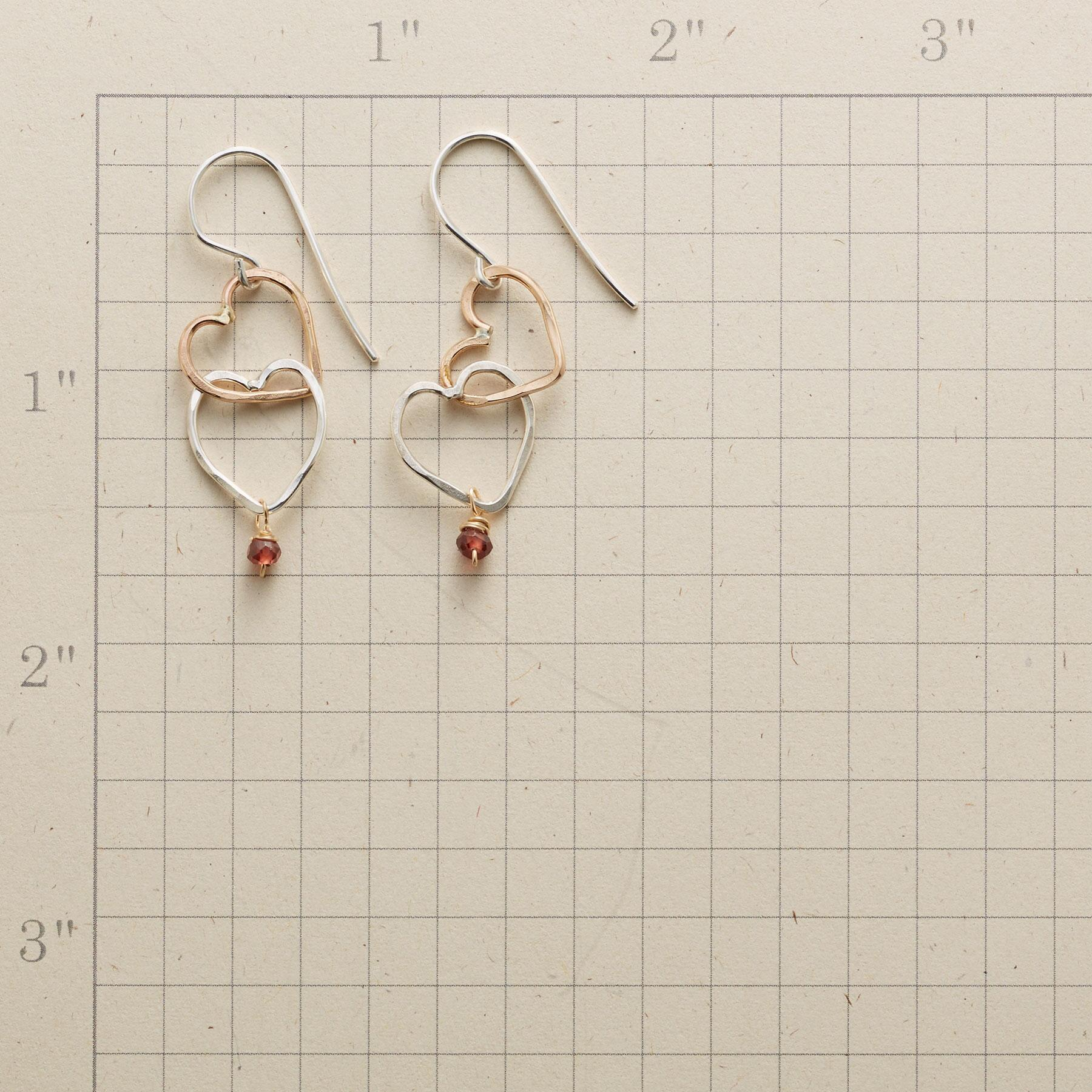 OPEN HEARTS EARRINGS: View 2