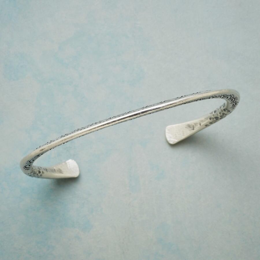 NEW ANGLE STERLING CUFF