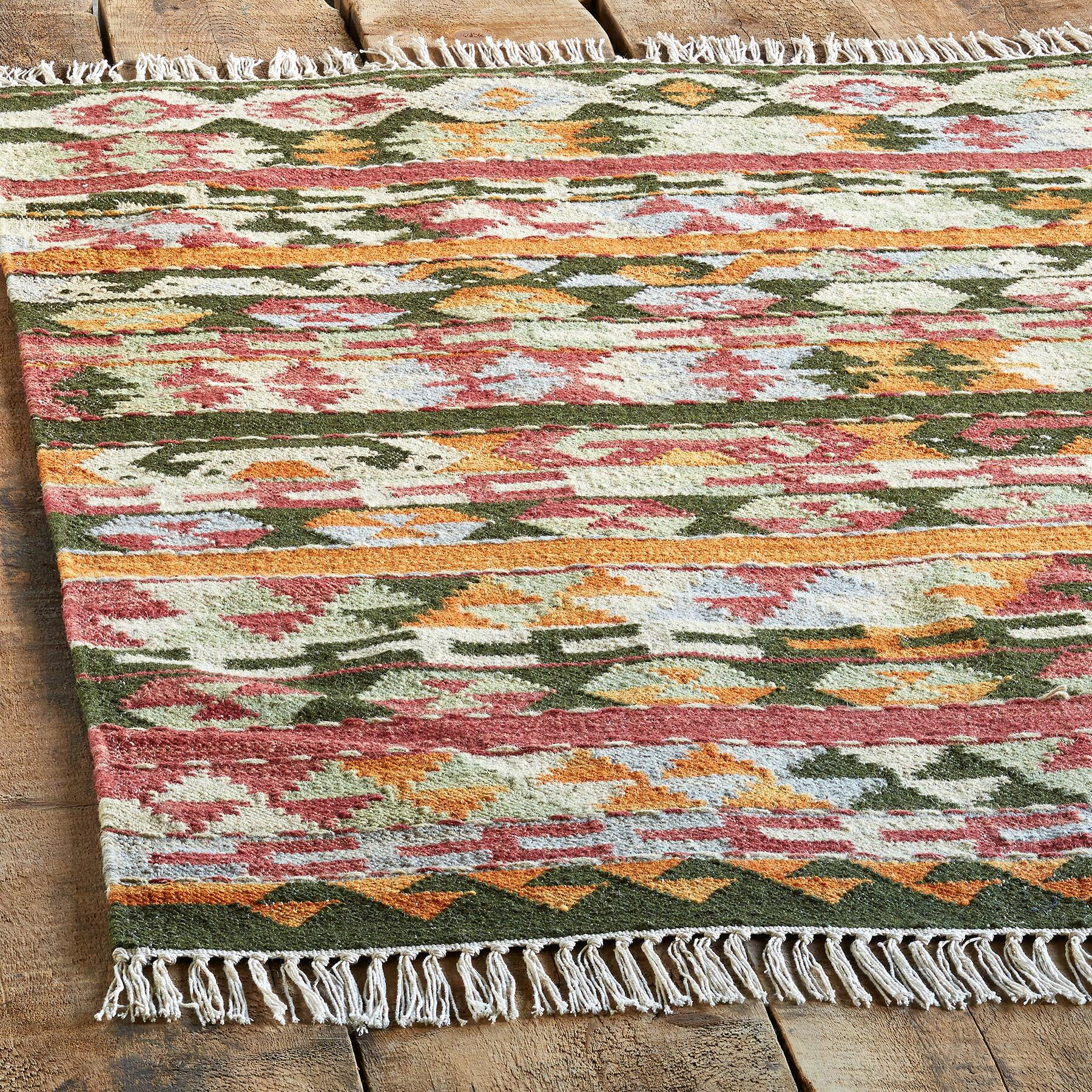 SUNRISE PASS KILIM RUG, LARGE: View 2