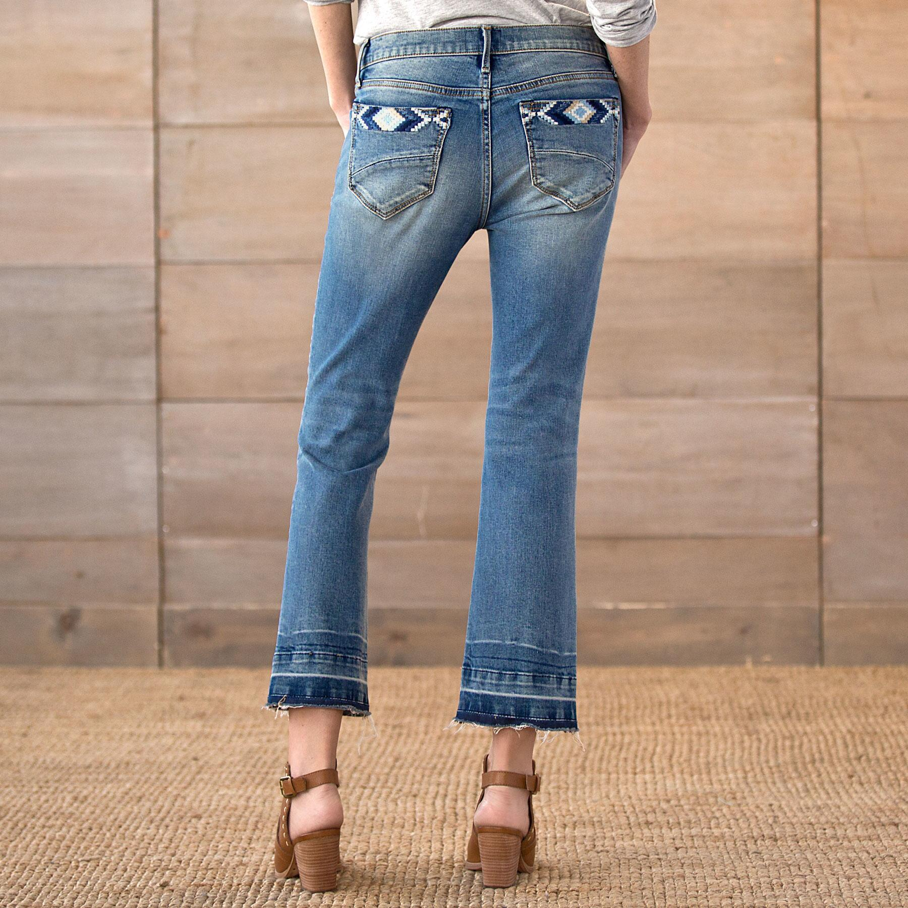 COLETTE CROPPED JEANS: View 2
