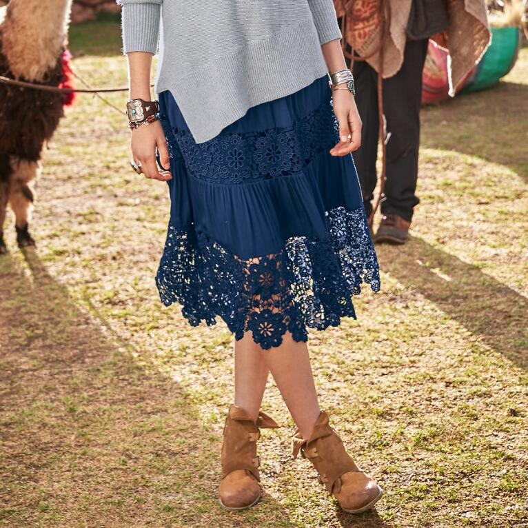 ISABELLE LACE SKIRT
