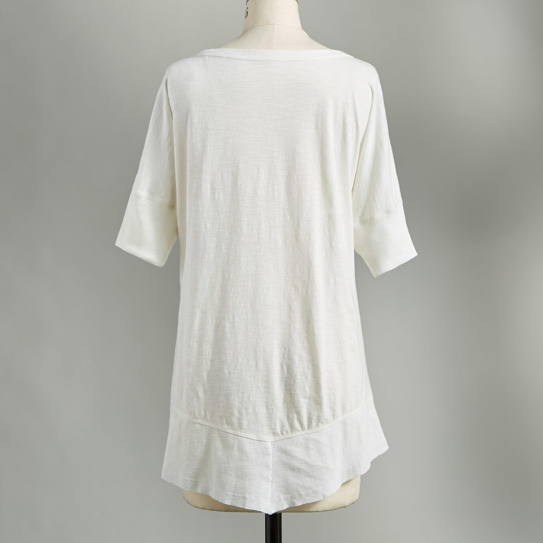 EASYGOING ELEGANCE TOP: View 2