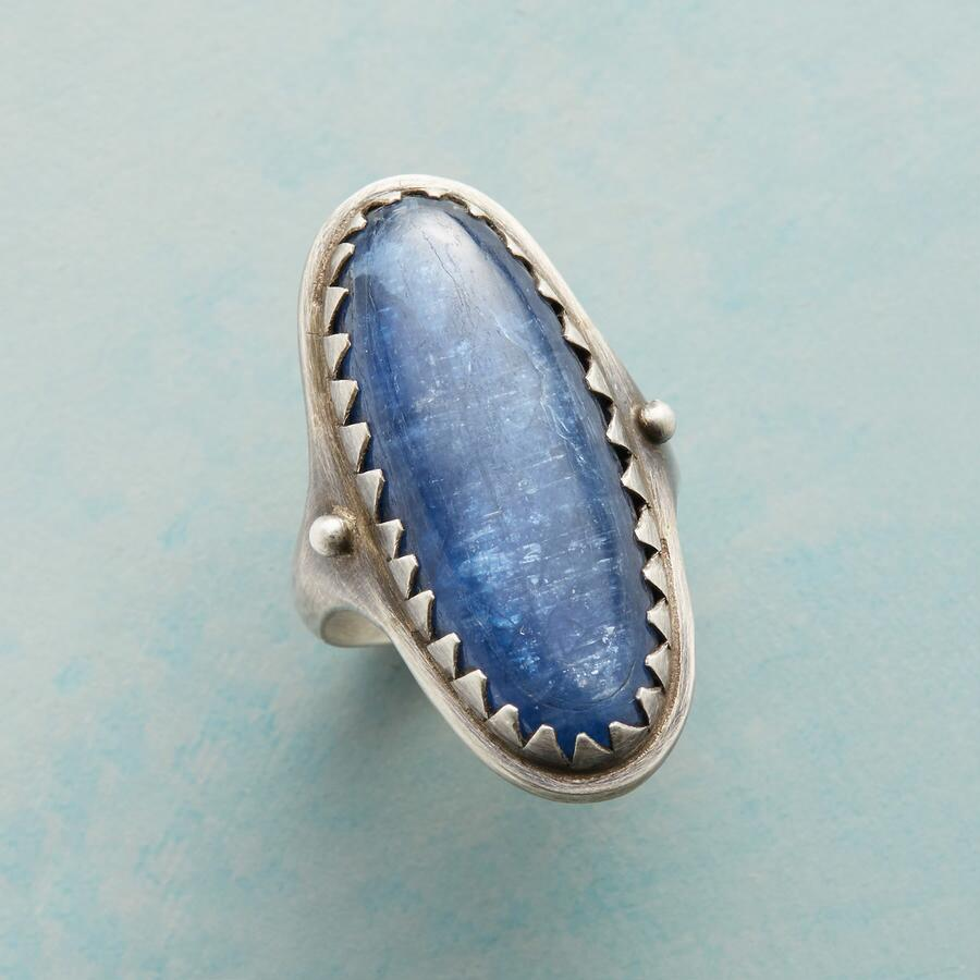 BOLD AND BLUE RING