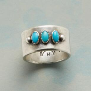 TURQUOISE TRINITY RING