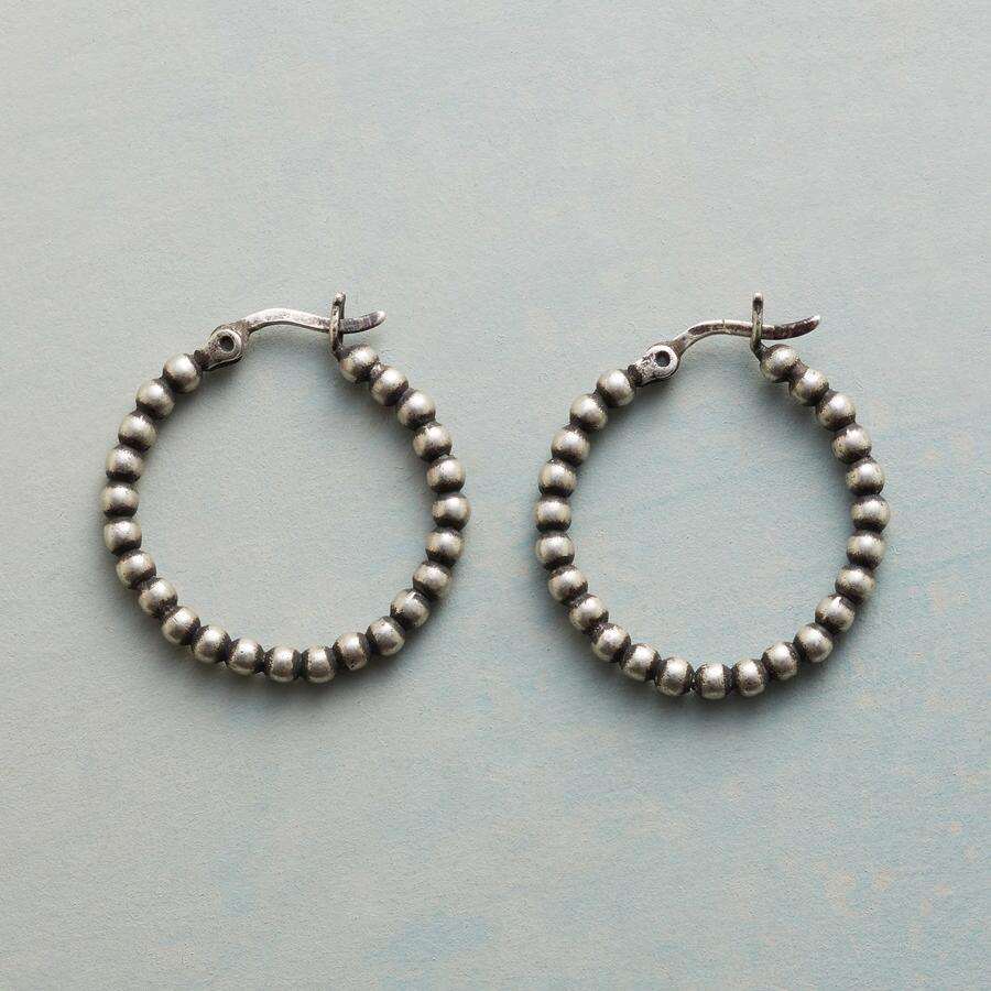 ROUND AROUND HOOP EARRINGS
