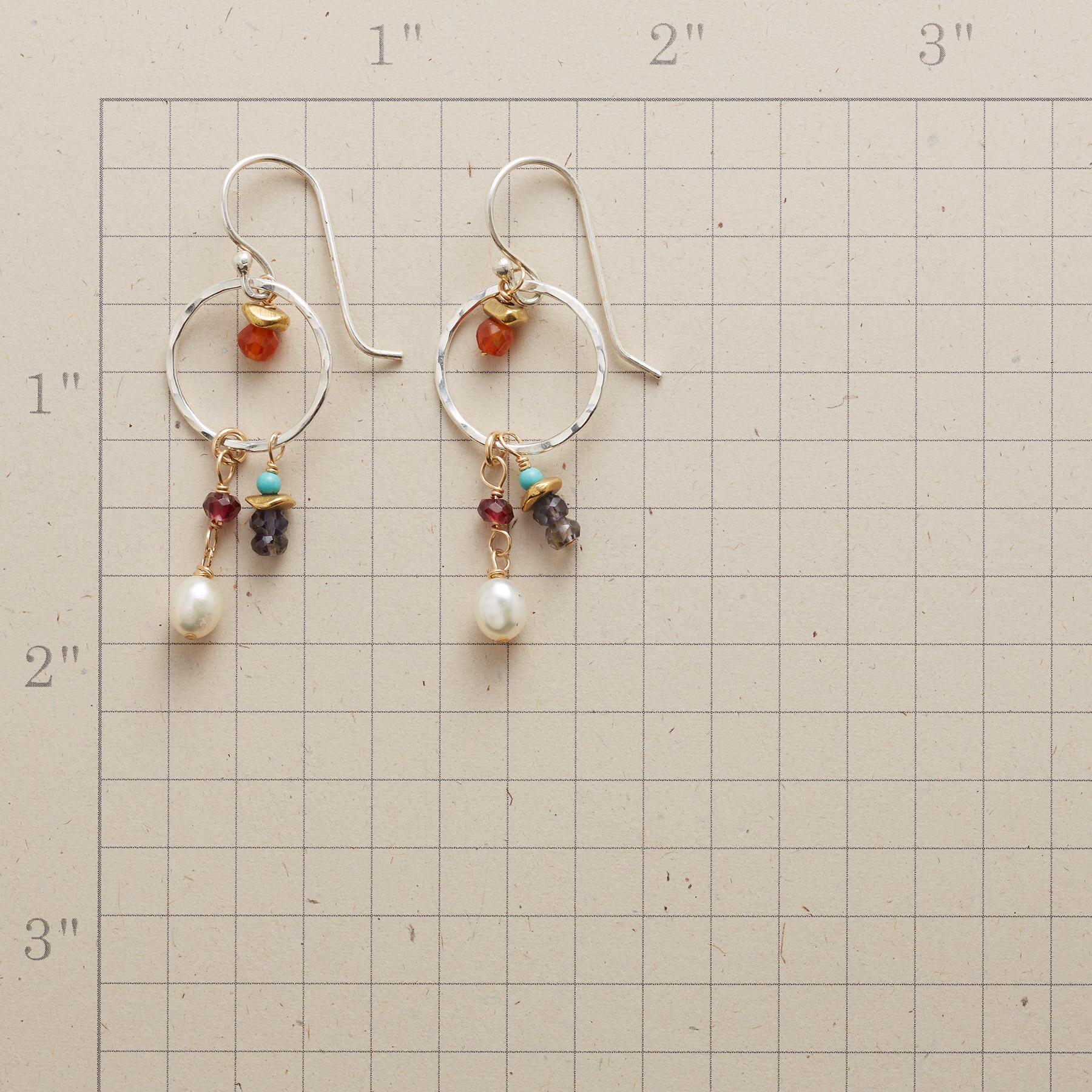 ROUND THE SUN EARRINGS: View 2