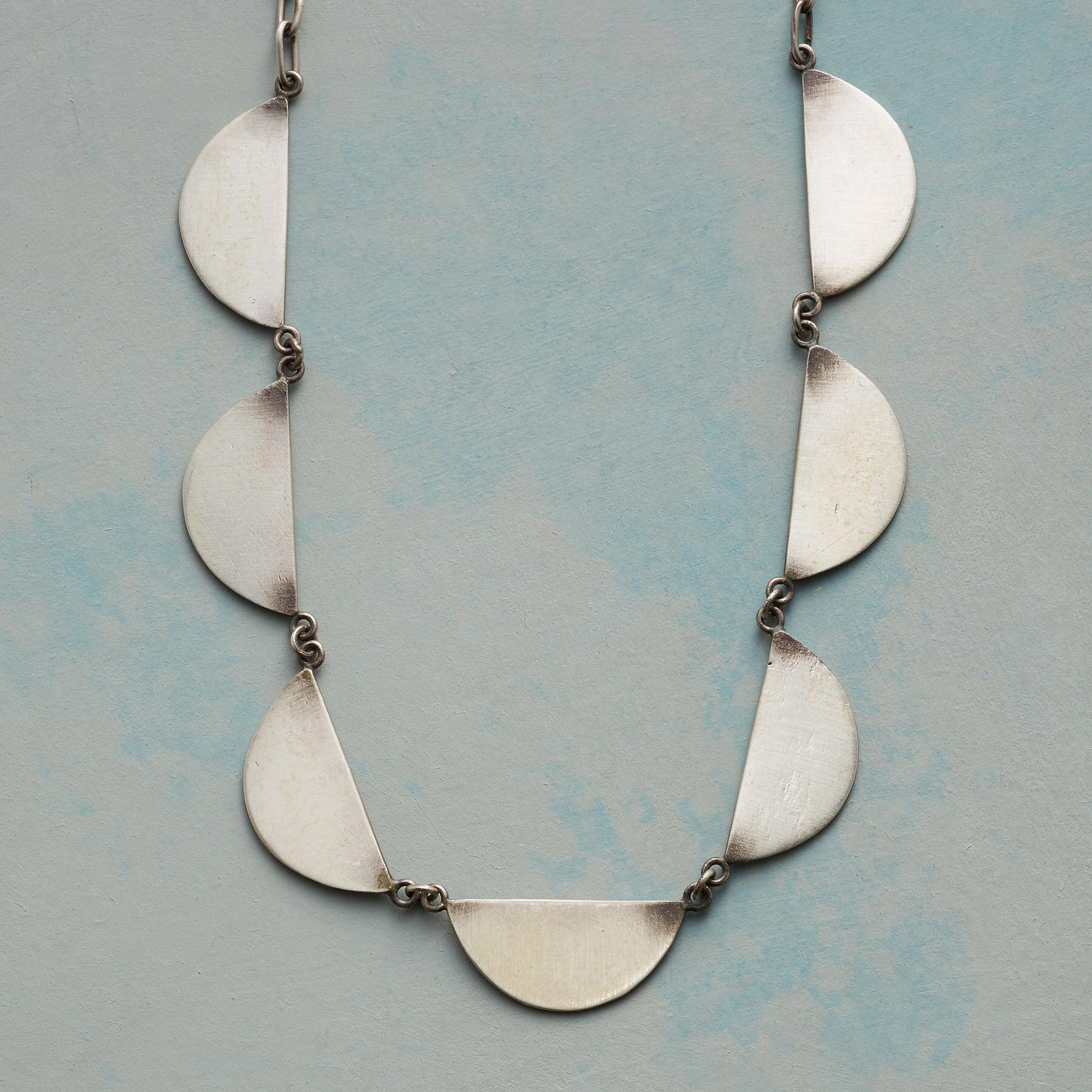 DEMI MOON NECKLACE: View 1