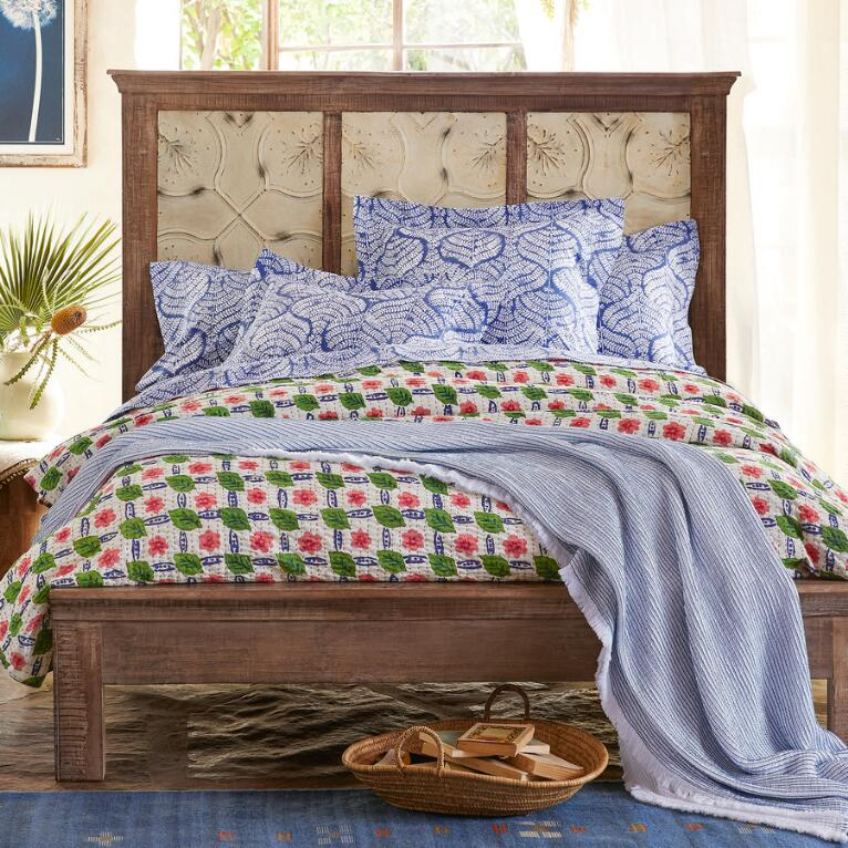 MARIETTA PRESSED TIN BED