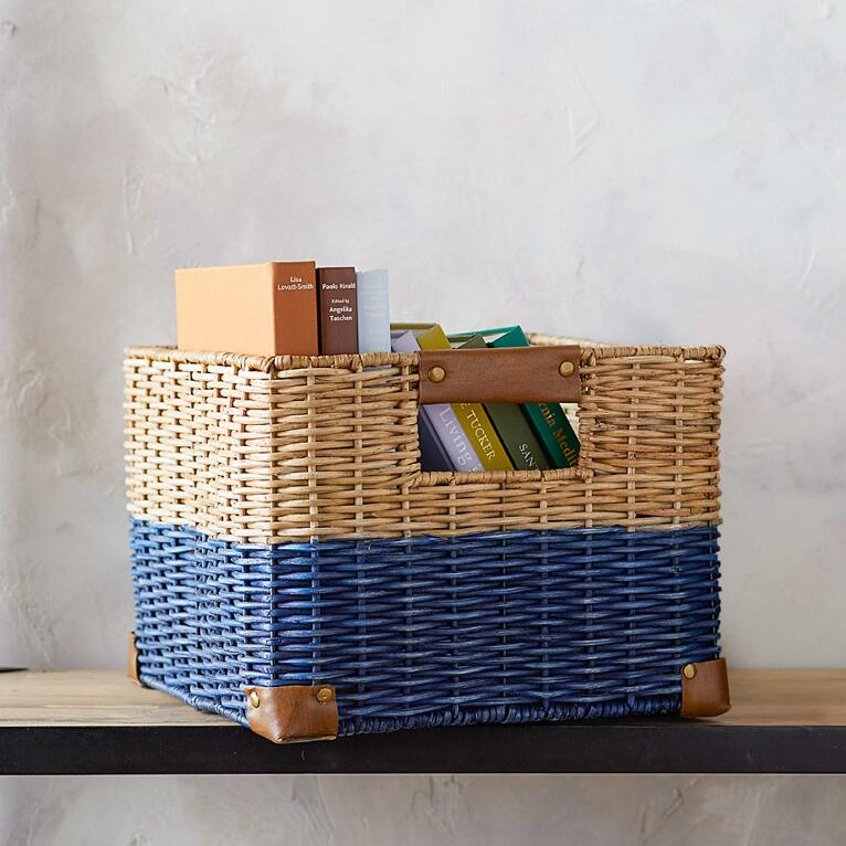 WHITMAN WICKER BASKET