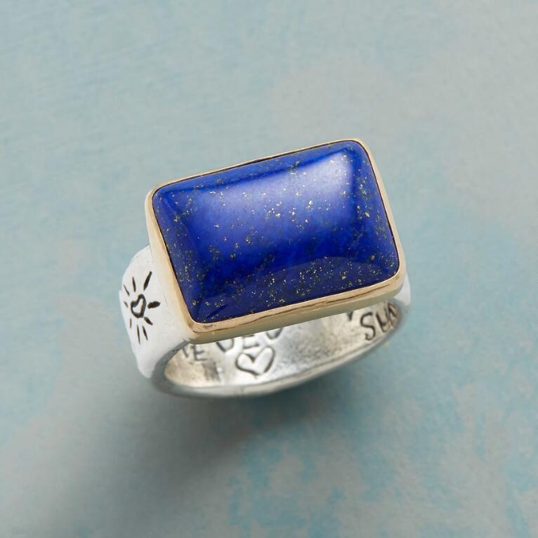 ENDLESS BLUE RING