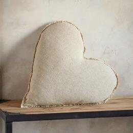 STONEWASH LINEN PURE LOVE PILLOW