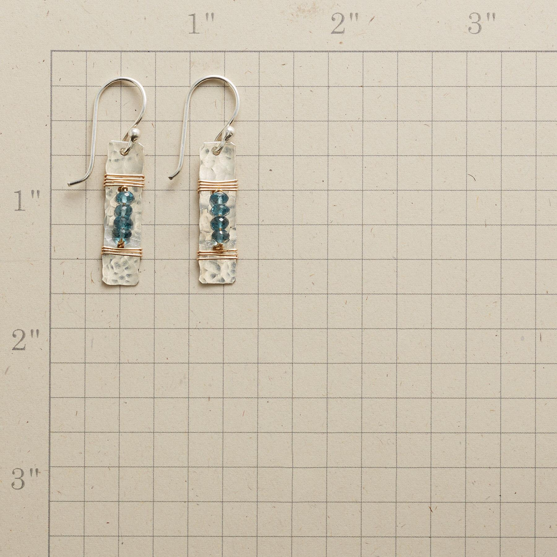 THE BEADS BETWEEN EARRINGS: View 2