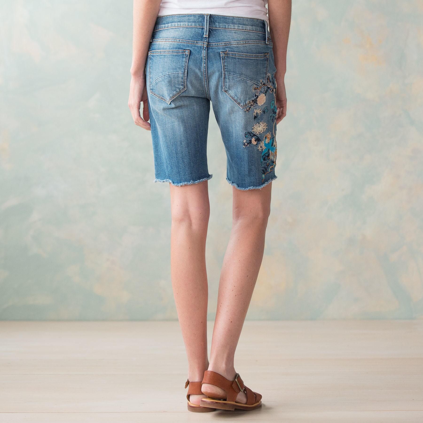 BERMUDA EMBROIDERED SHORTS BY DRIFTWOOD: View 2
