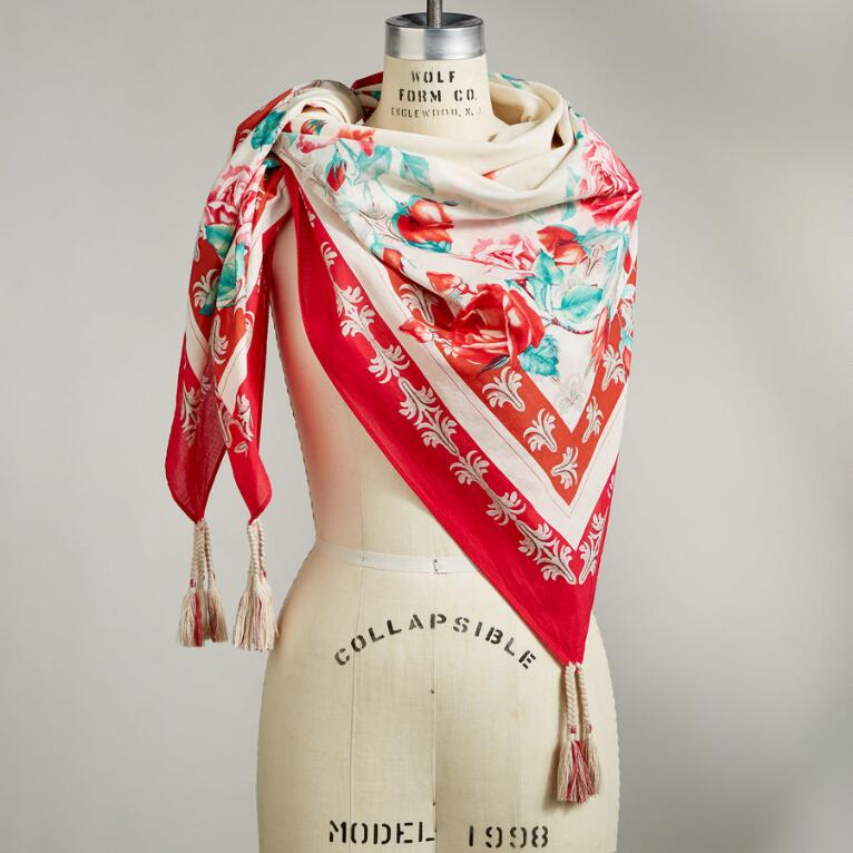 ROSE OF CAMELOT SCARF