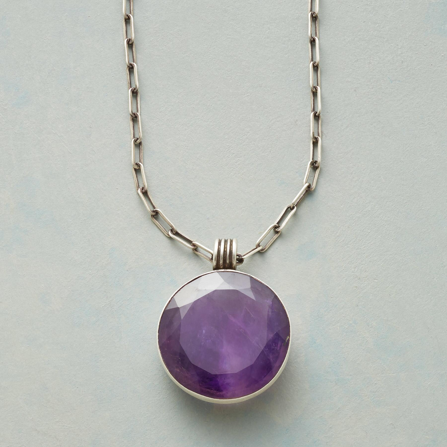 PURPLE MOON NECKLACE: View 1