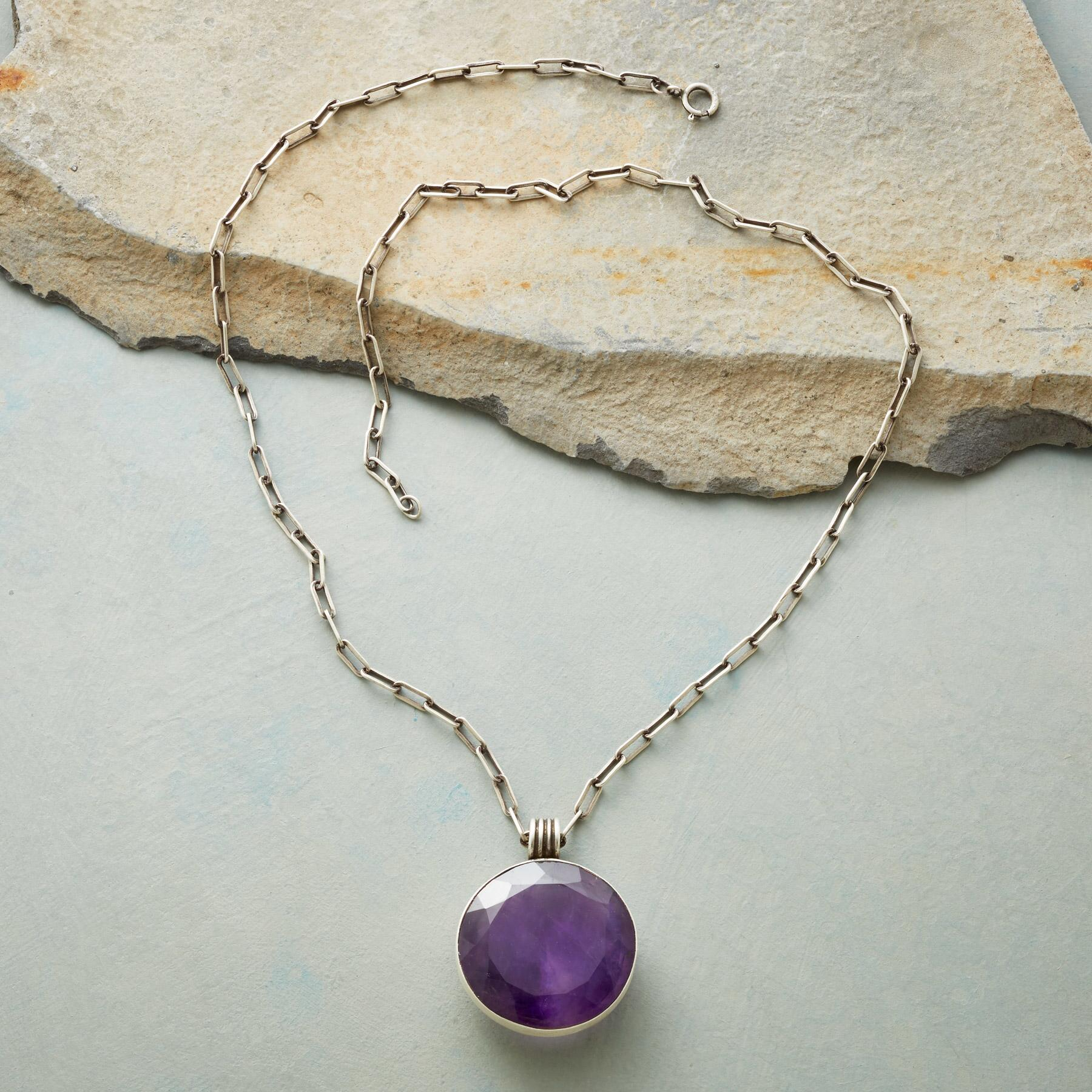 PURPLE MOON NECKLACE: View 2