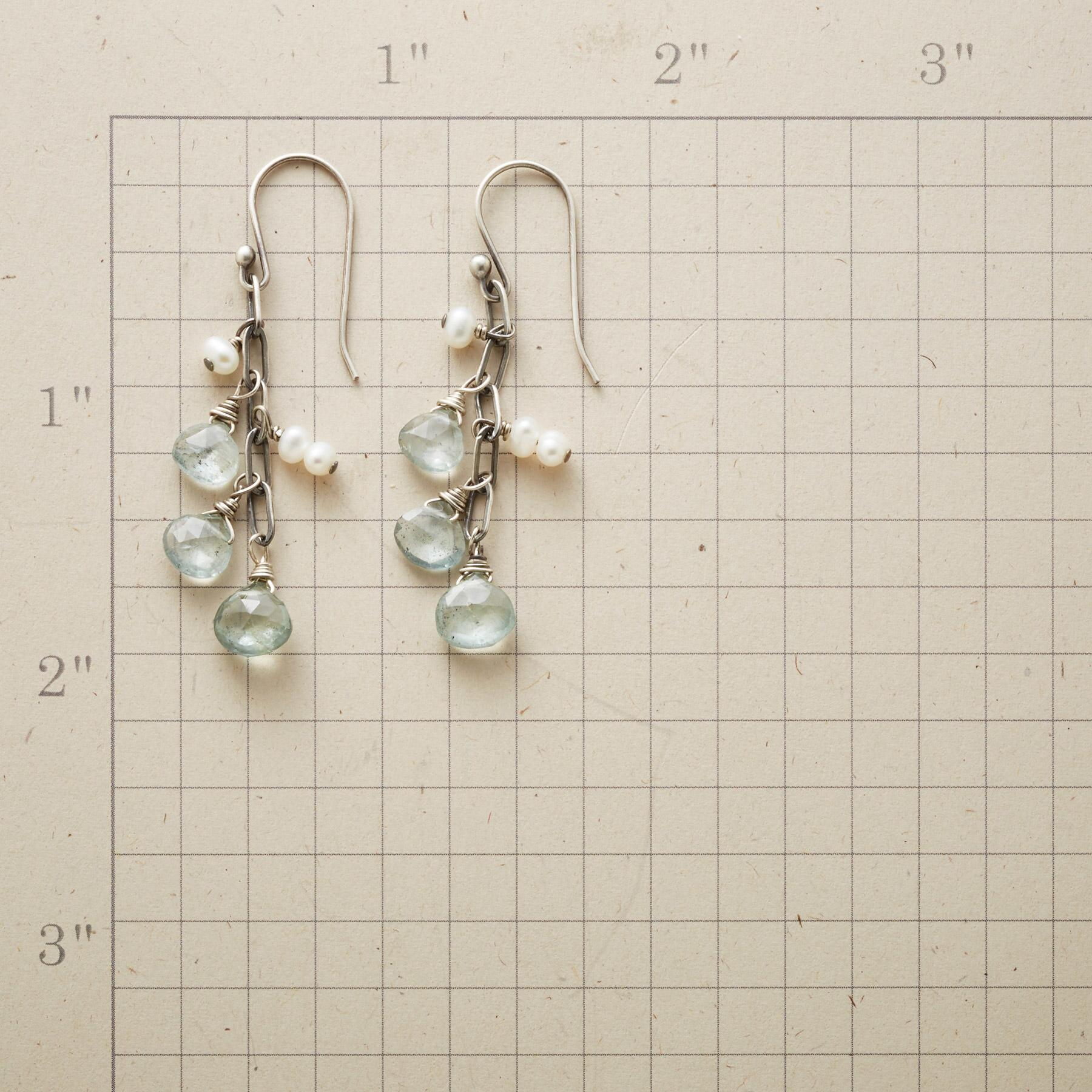 CHASING RAINDROPS EARRINGS: View 2