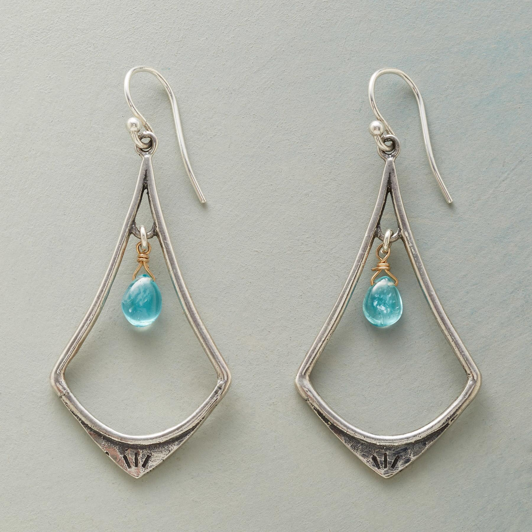SHALIMAR LANTERN EARRINGS: View 1