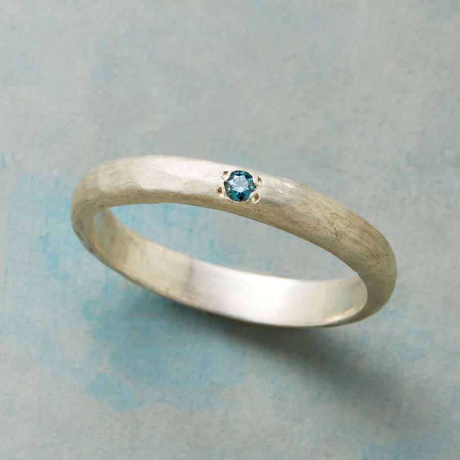 BLUE ICE DIAMOND RING