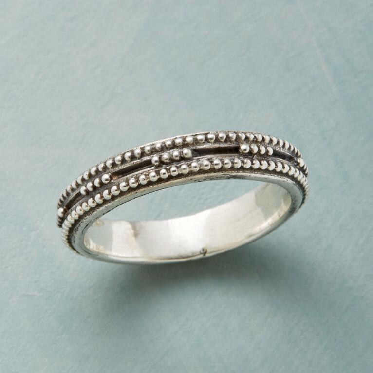 SIMPATICO STERLING RING