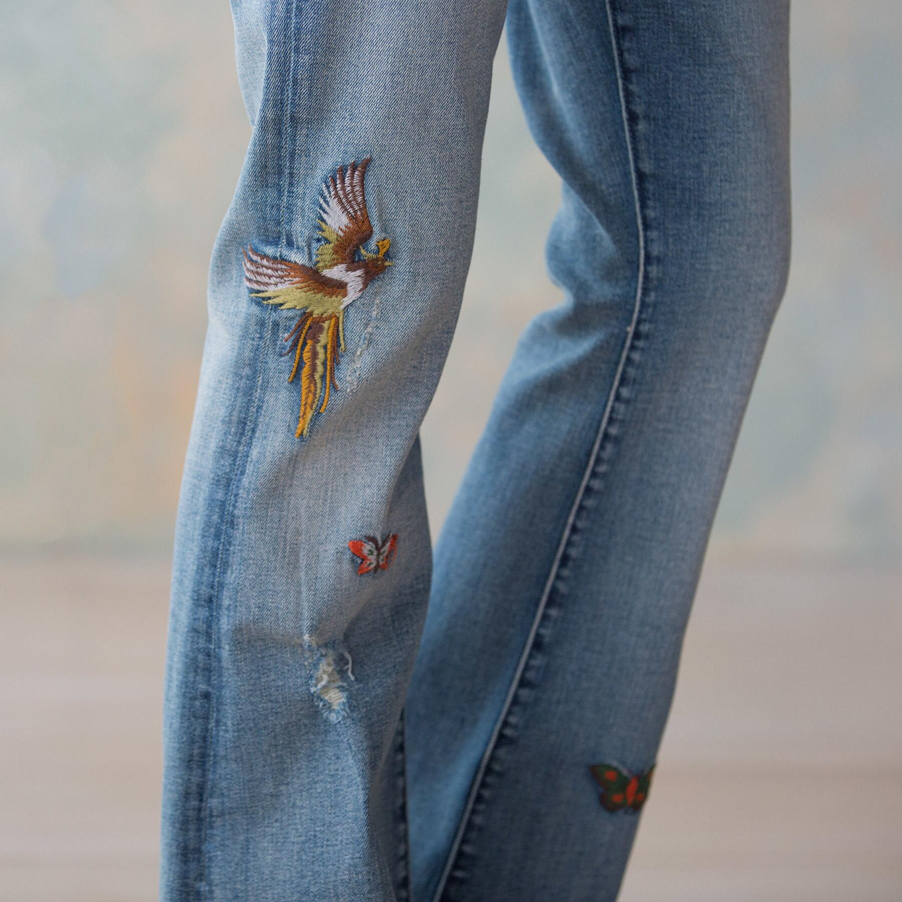 BUTTERFLIES ARE FREE JEANS: View 4