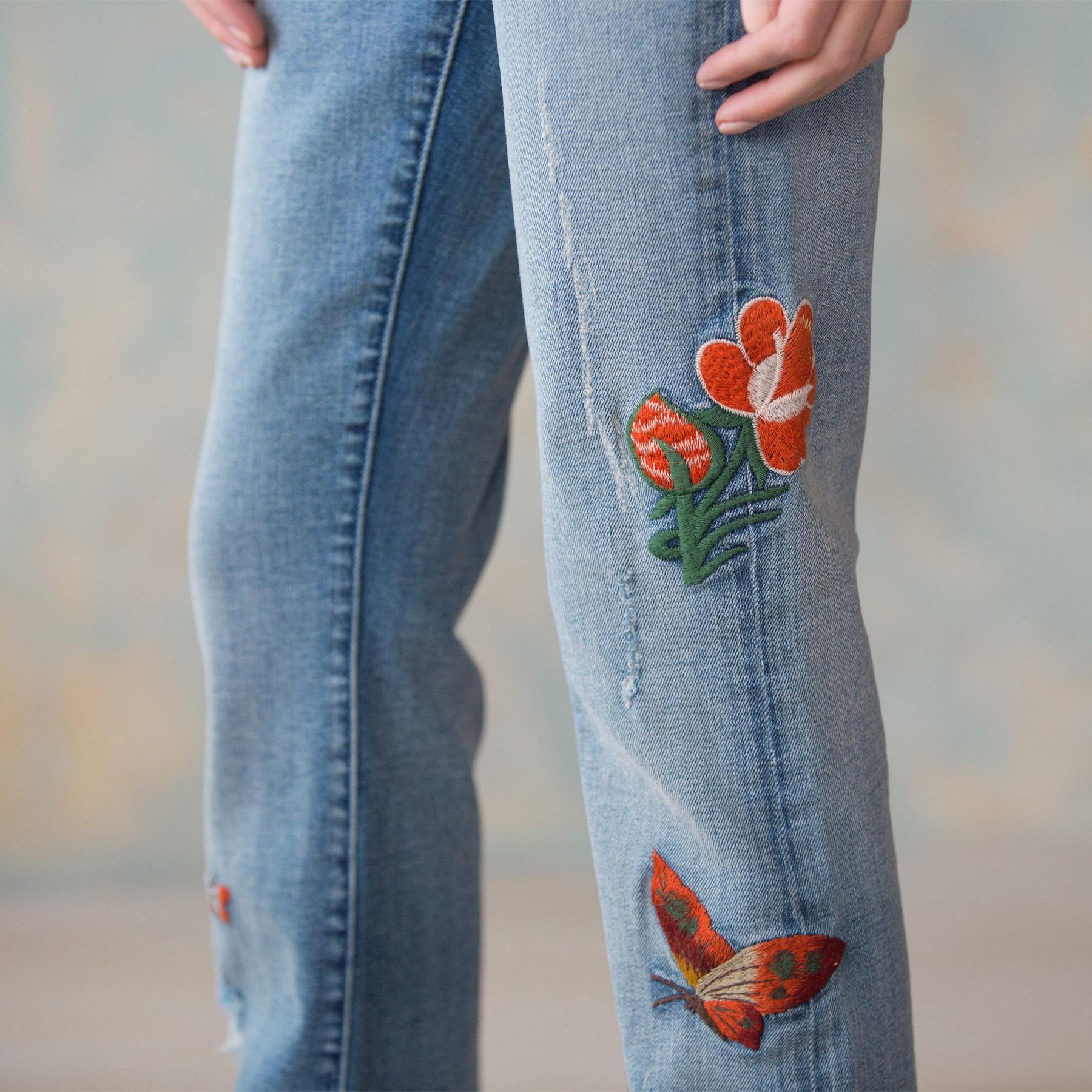 BUTTERFLIES ARE FREE JEANS: View 5