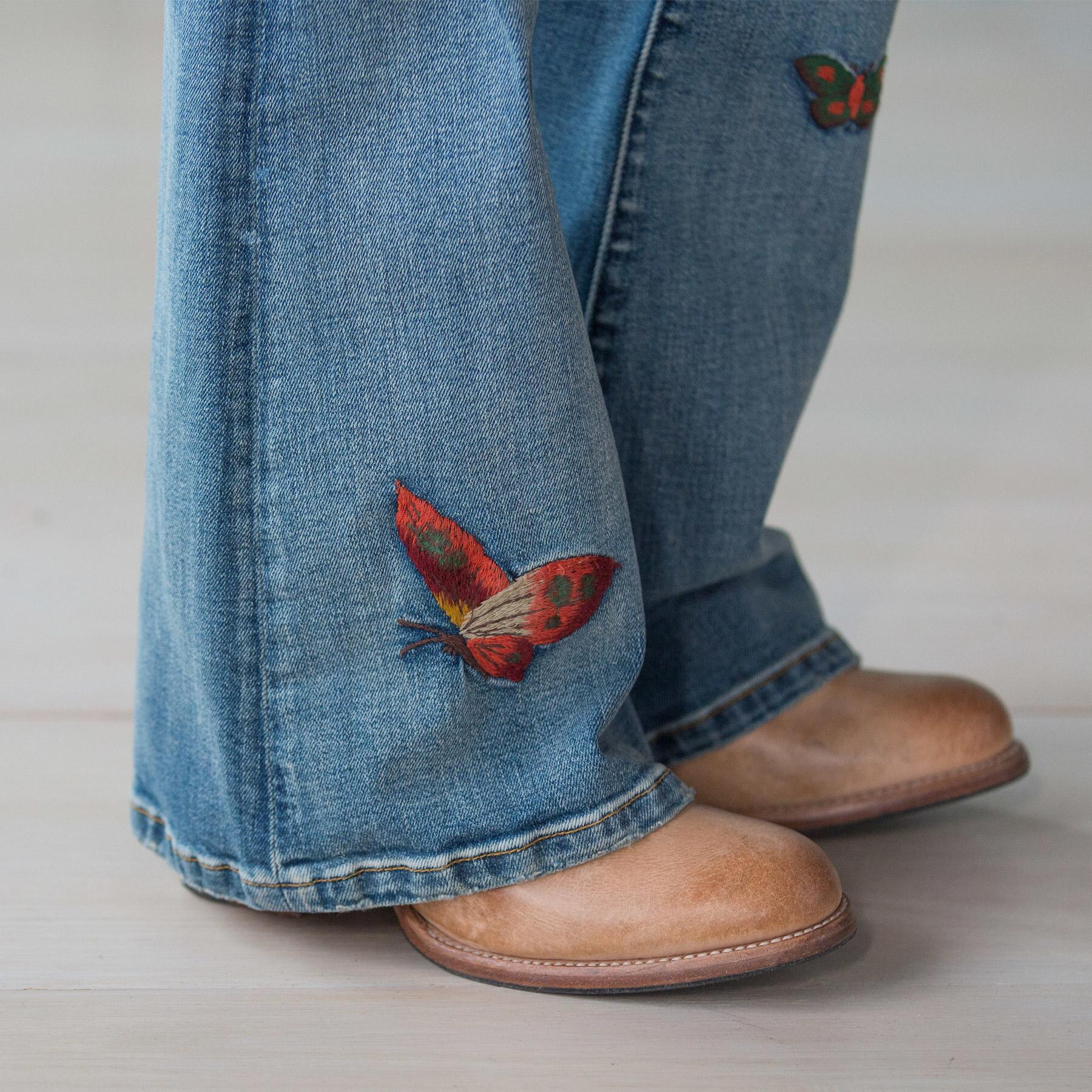 BUTTERFLIES ARE FREE JEANS: View 6