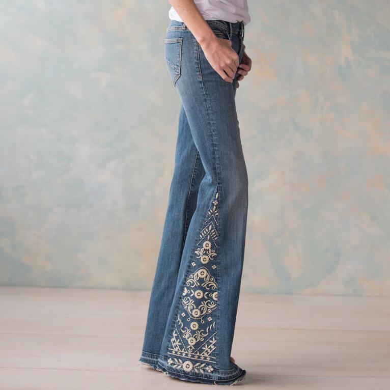 Farrah Spring Beauty Jeans Robert Redford S Sundance Catalog