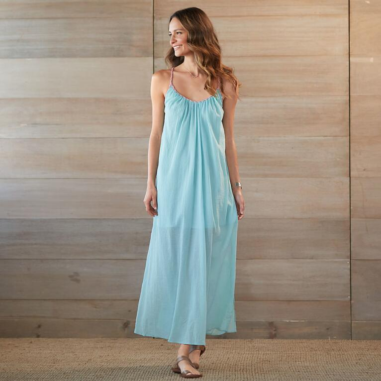 PLAITED TRIM MAXI