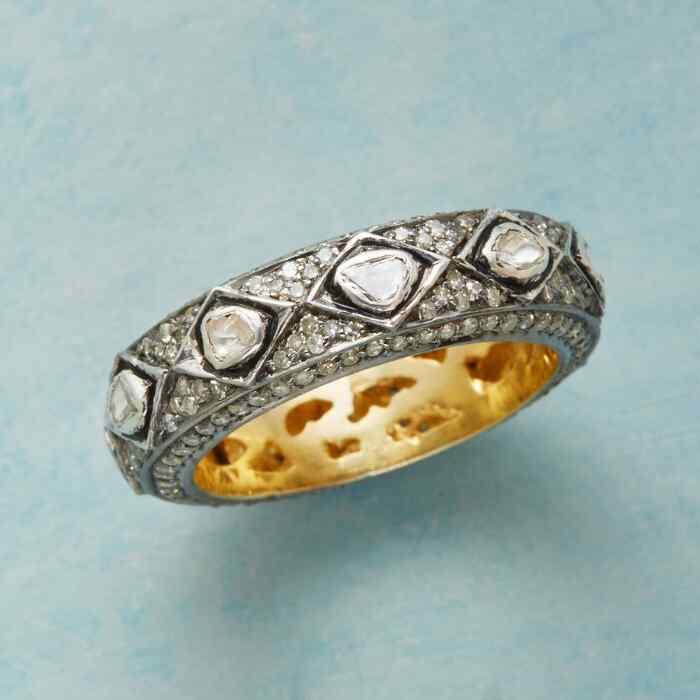 EQUIPOISE DIAMOND RING