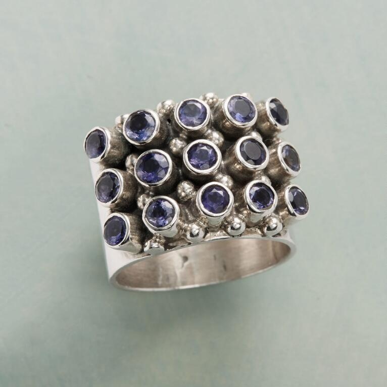 IOLITE MARQUEE RING