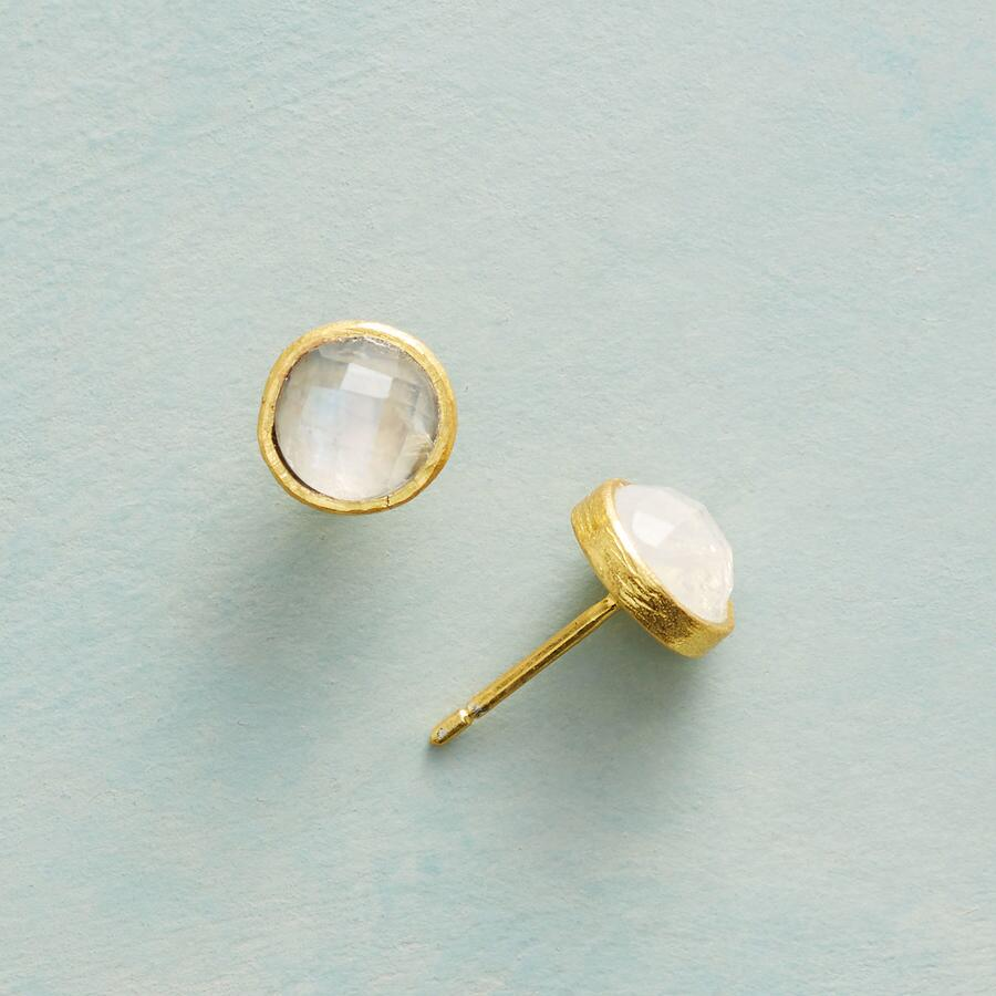 MOONSTONE MOUNTAIN EARRINGS