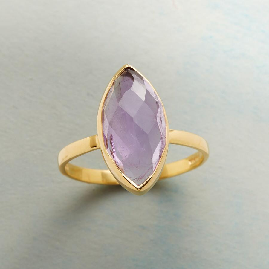 UNABASHED AMETHYST RING