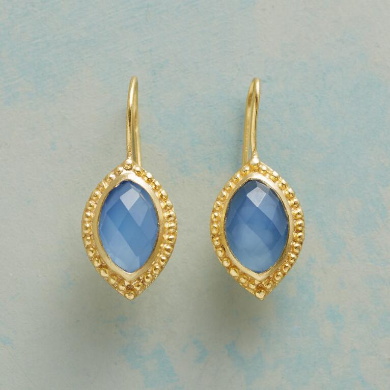 BLUEBELL CHALCEDONY EARRINGS