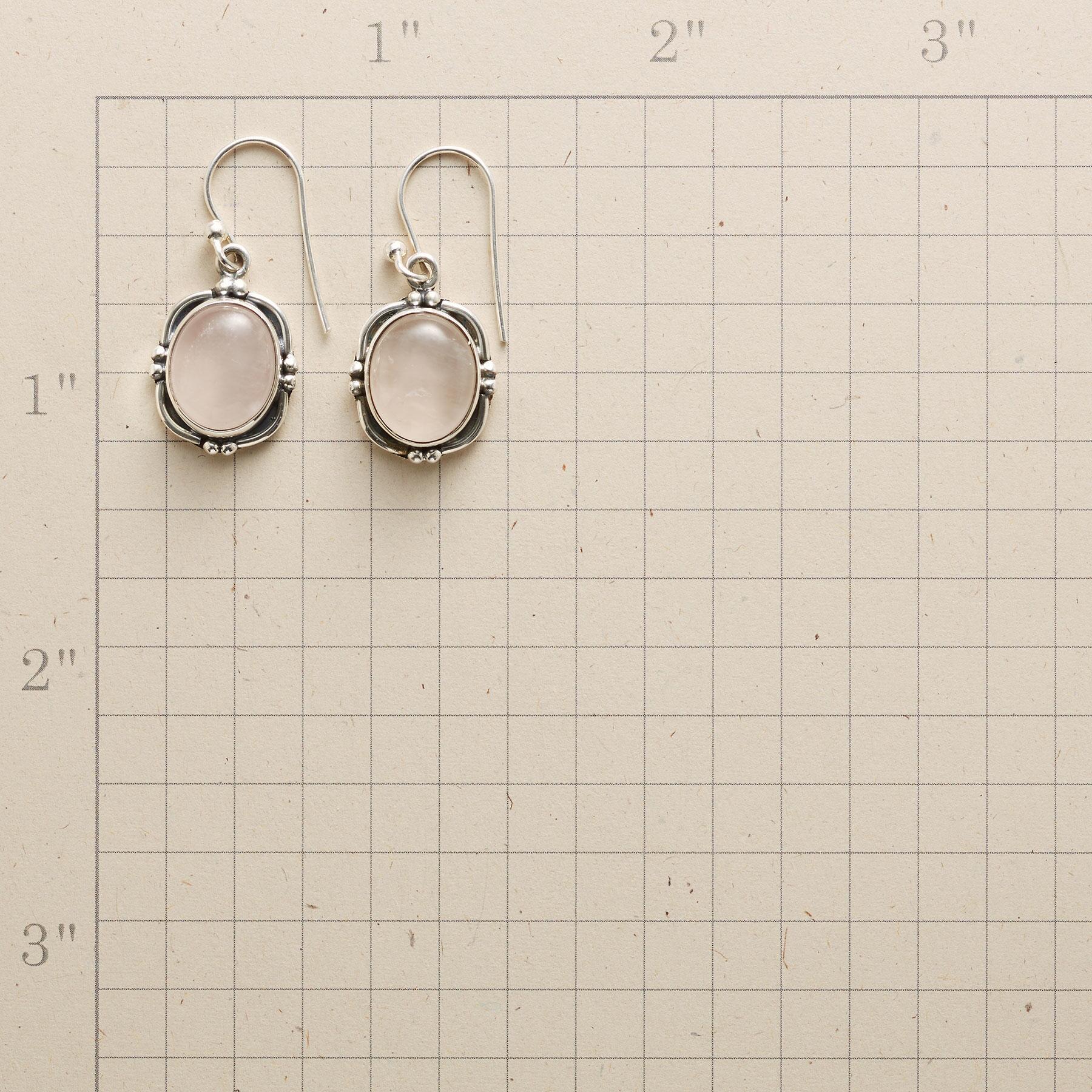 ROSE PORTRAIT EARRINGS: View 2