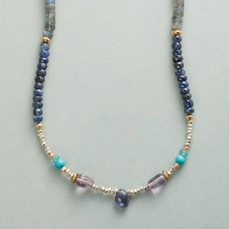 BLUE MUSE NECKLACE