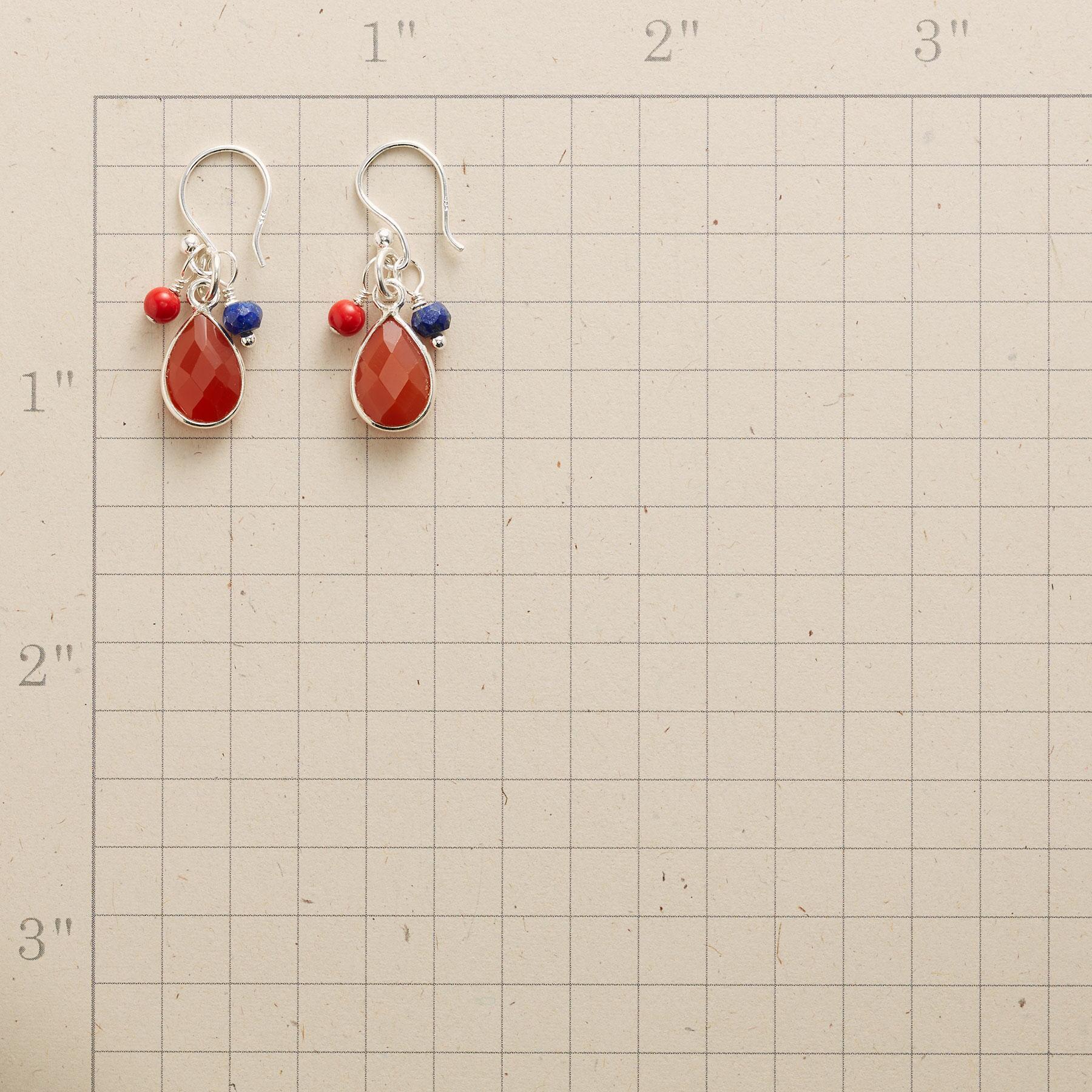 FACETED EMBER EARRINGS: View 2