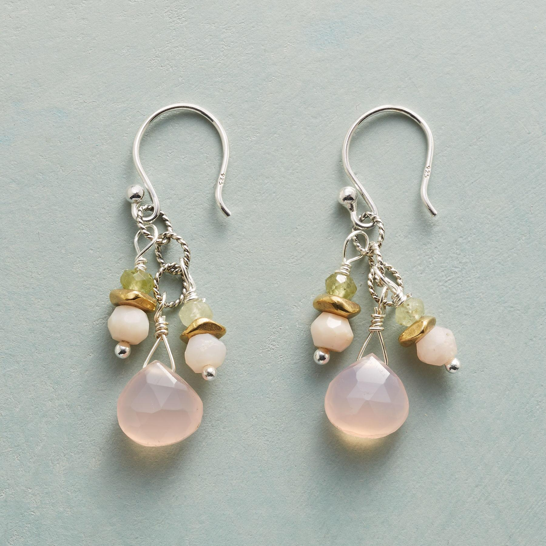 PALE & PRETTY DROP EARRINGS: View 1