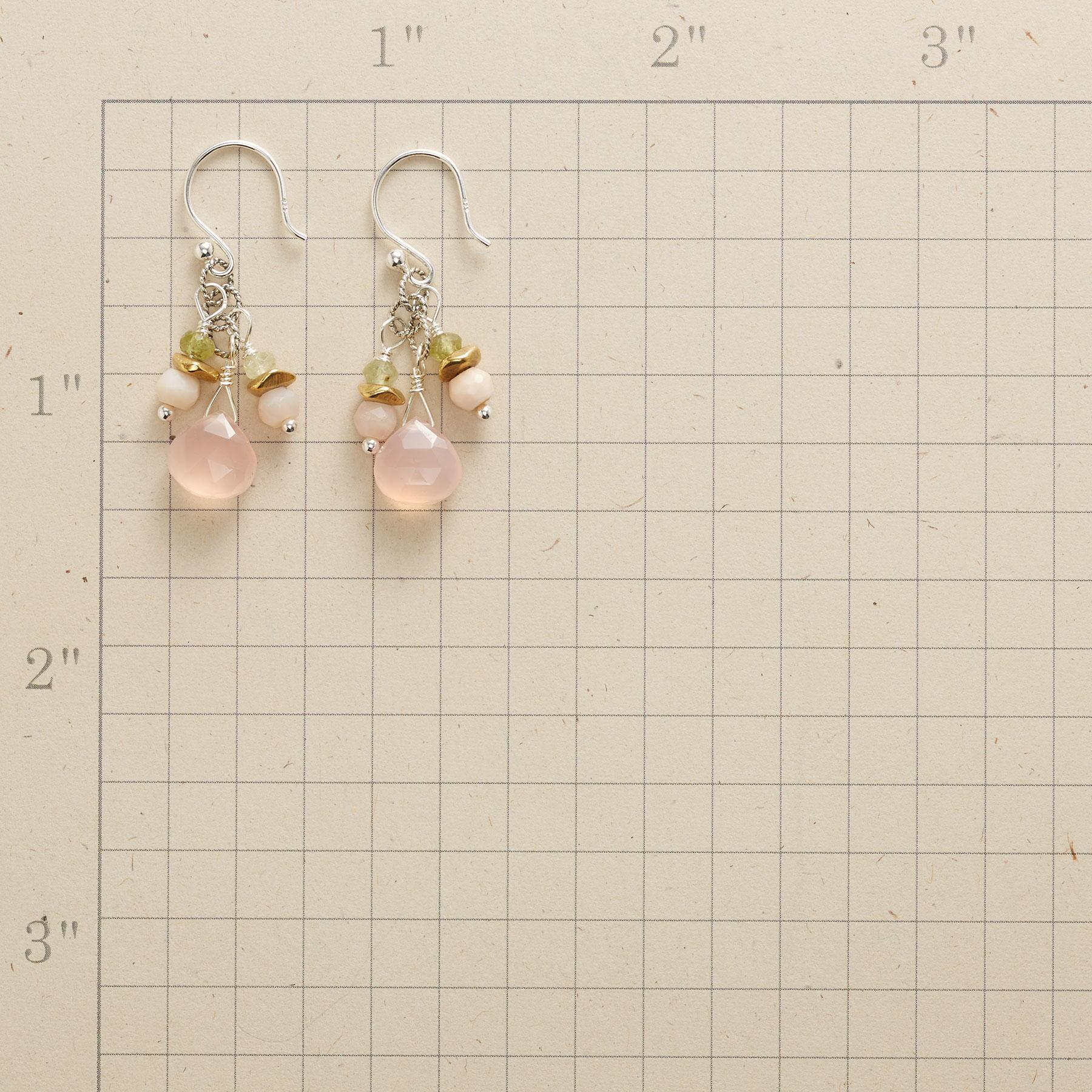 PALE & PRETTY DROP EARRINGS: View 2