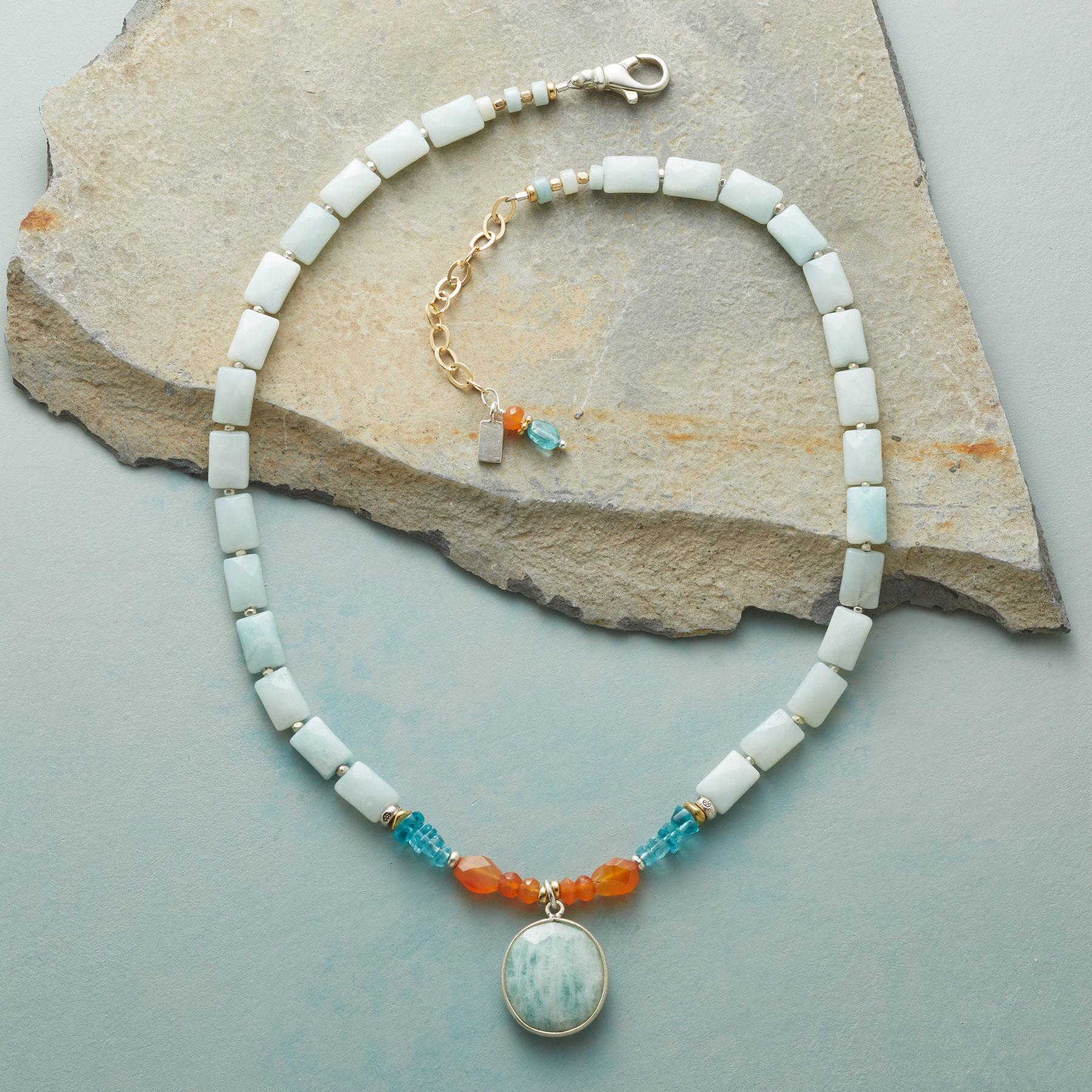 FIRE AND WATER NECKLACE: View 2