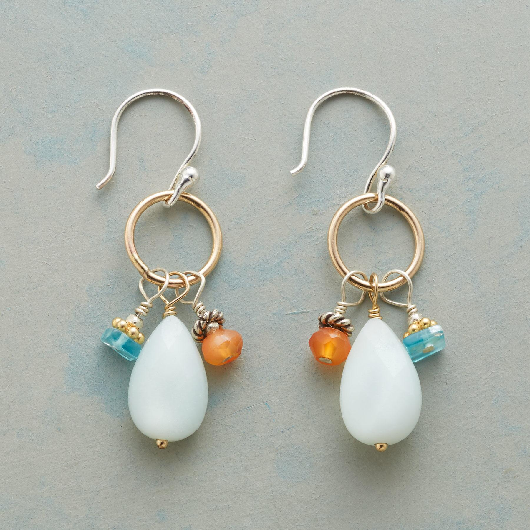 FIRE AND WATER EARRINGS: View 1